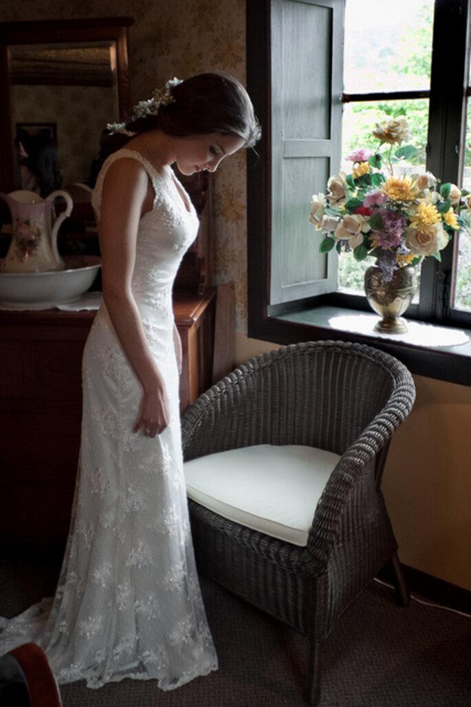 Vestido de novia diseño de Catalina Bayona. Foto: Julie Bayona White Photography