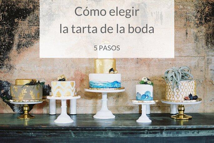 Como elegir la tarta de la boda.