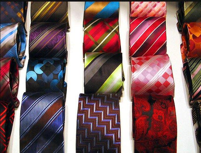 Encontrar corbata es fácil, hay muchas opciones. Foto de Fernando de Sousa