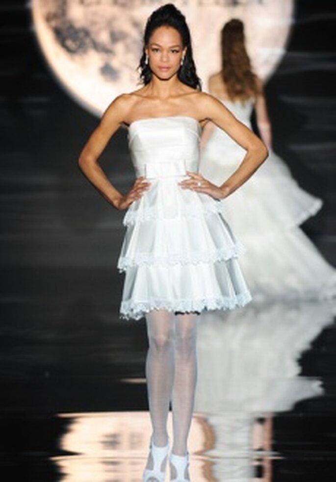 Colección de vestidos de novia cortos Pepe Botella 2011