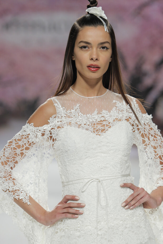 Foto: Inmaculada García en Barcelona Bridal Week