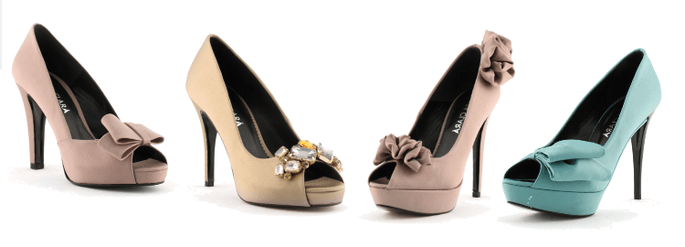 Peep Toes de Rosa Clará