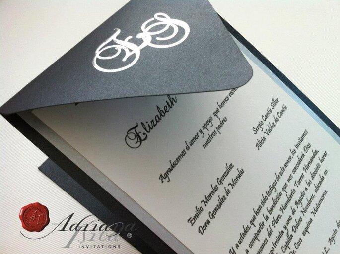 Invitaciones Adriana Isita