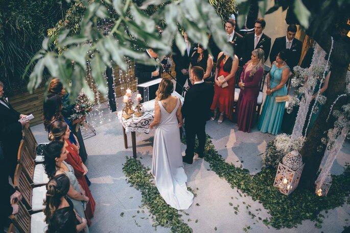 Local da cerimônia e da recepção: Oca Tupiniquim. Foto: L'amourgraphy
