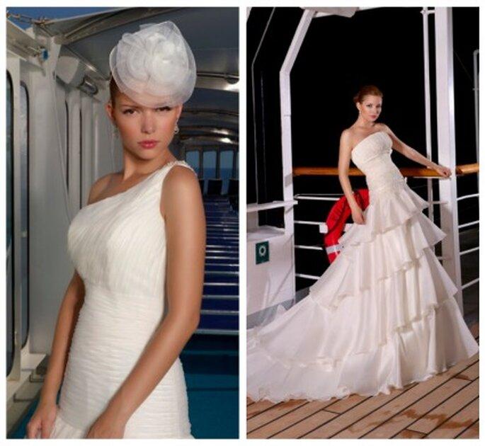 Vestidos de novia Novíssima 2012