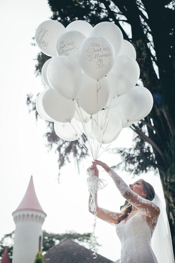 Boda en blanco: el color de las novias en todos los detalles de tu matrimonio