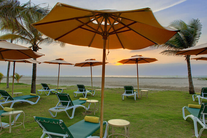 Holiday Inn Cartagena Morros vista a la playa