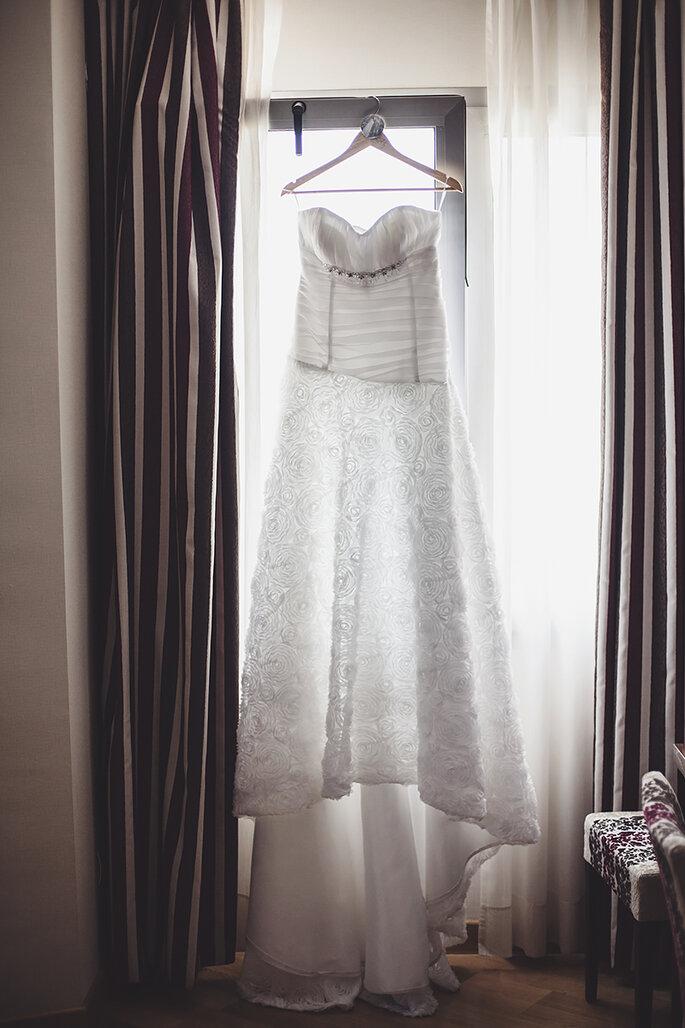 Wie man sein Brautkleid nach der Hochzeit praktisch verwenden kann ...