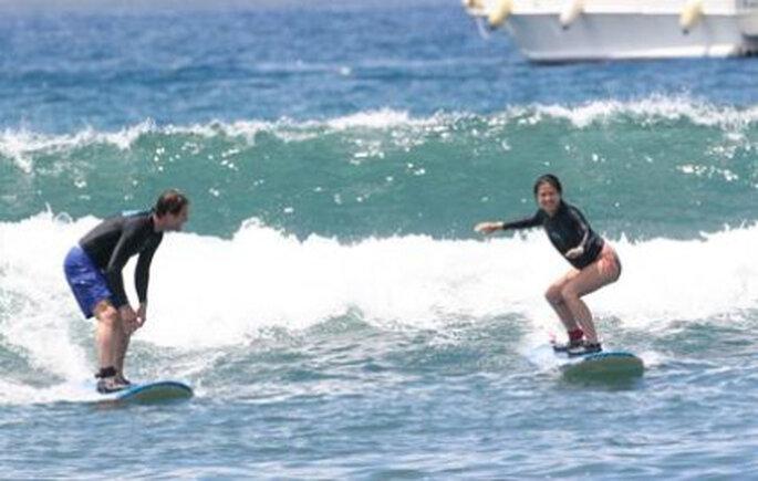 El surf: una pasión para disfrutar de a dos