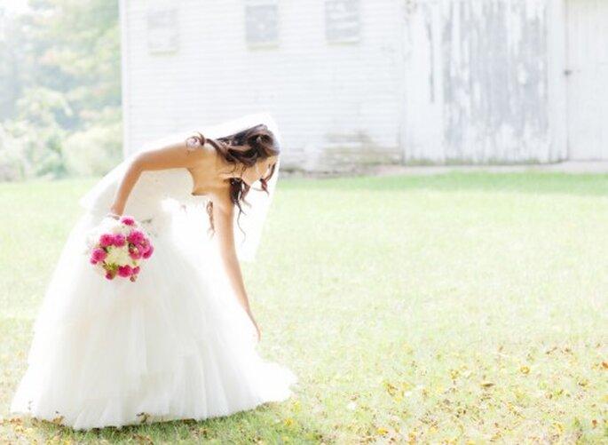 Estilo de la novia minimalista - Foto Jen Lynne