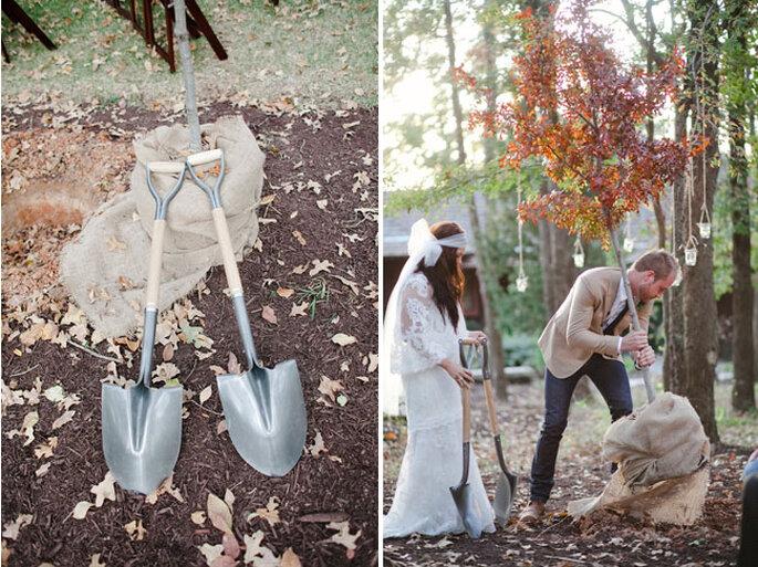 Ceremonia para plantar. Foto: The Nichols