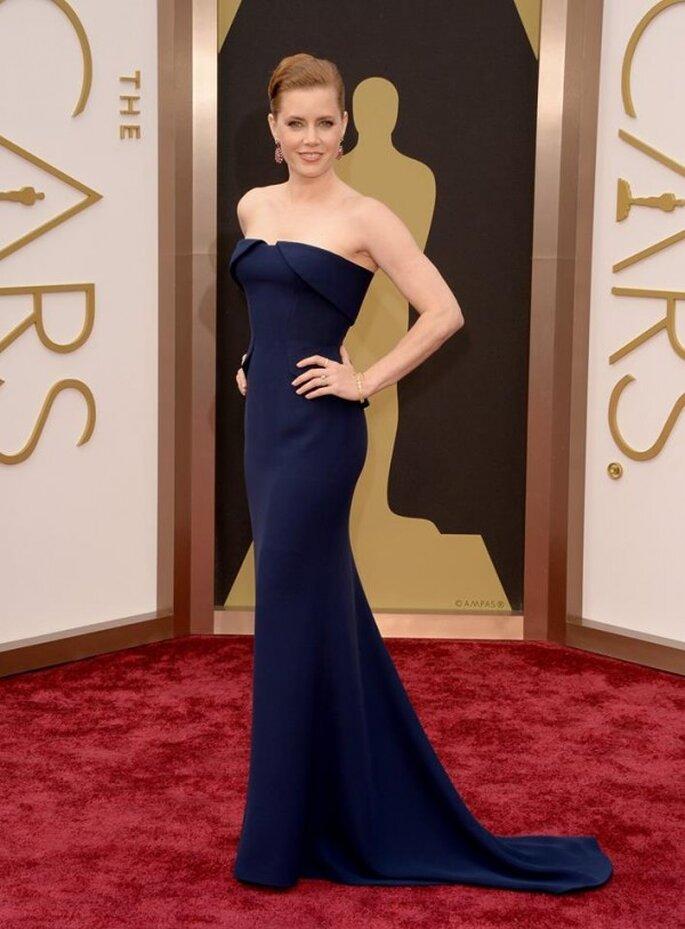 Amy Adams en la red carpet de los Oscar 2014 - Foto Gucci