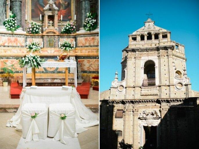 Die Zeremonie wurde traditionell in der Kirche abgehalten – Foto: Nadia Meli