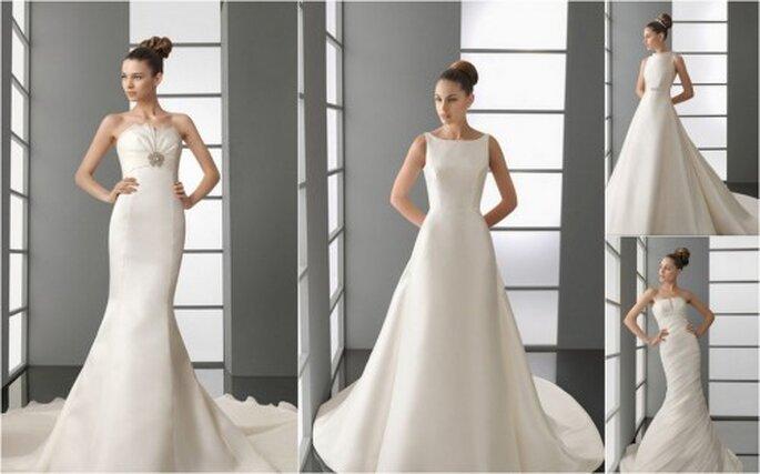 Vestidos de novia AIRE Barcelona colección 2012
