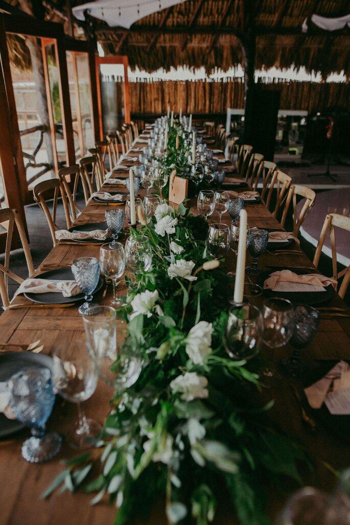 Centros de mesa para boda - Centro de mesa Gypsy