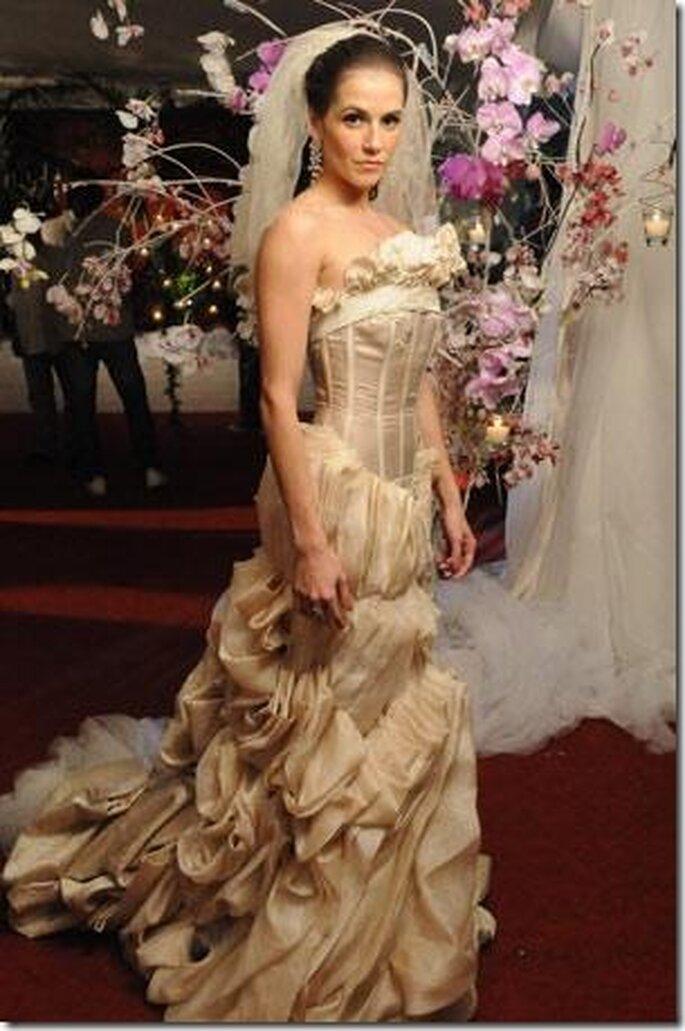 Novela A Favorita: Vestido de noiva da Maria do Céu