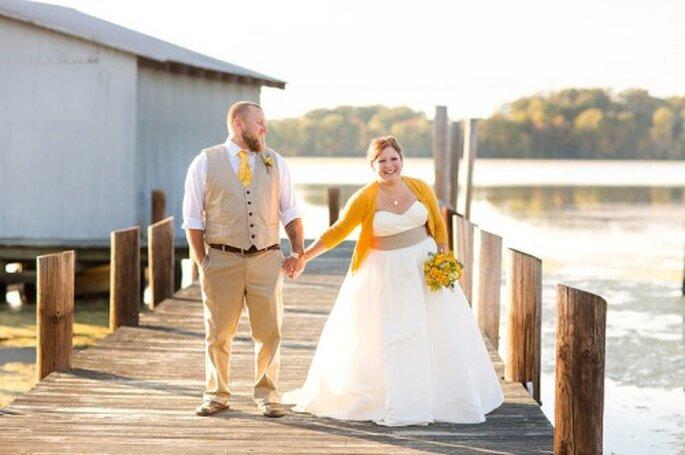 3 formas para integrar el otoño en tu look de novia - Katelyn James