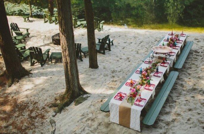 Montajes perfectos para una boda en la playa - Foto With Love and Embers