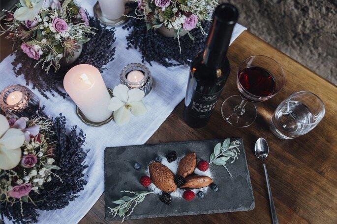 Hochzeitsmenü von Bauer's Catering.