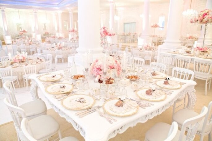 Real Decor: Majestical wedding decor fit for a princess- Photo: Jacob & Pauline Photography