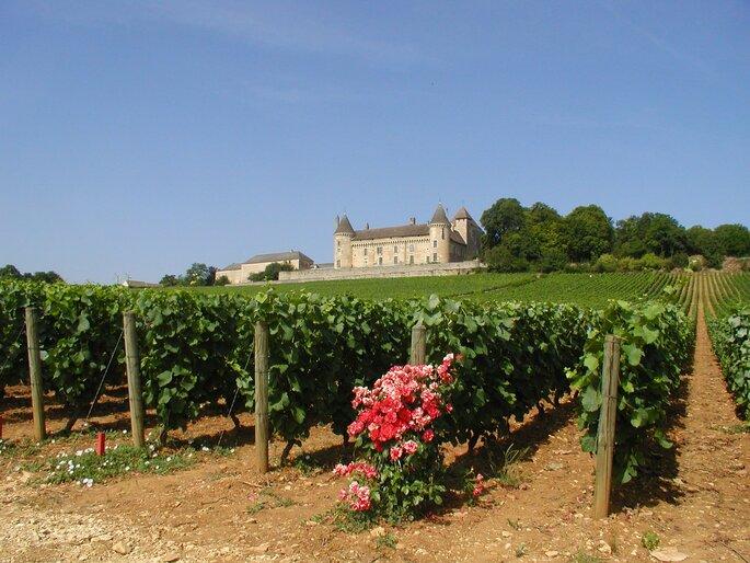Château de Rully, lieu de réception en Bourgogne