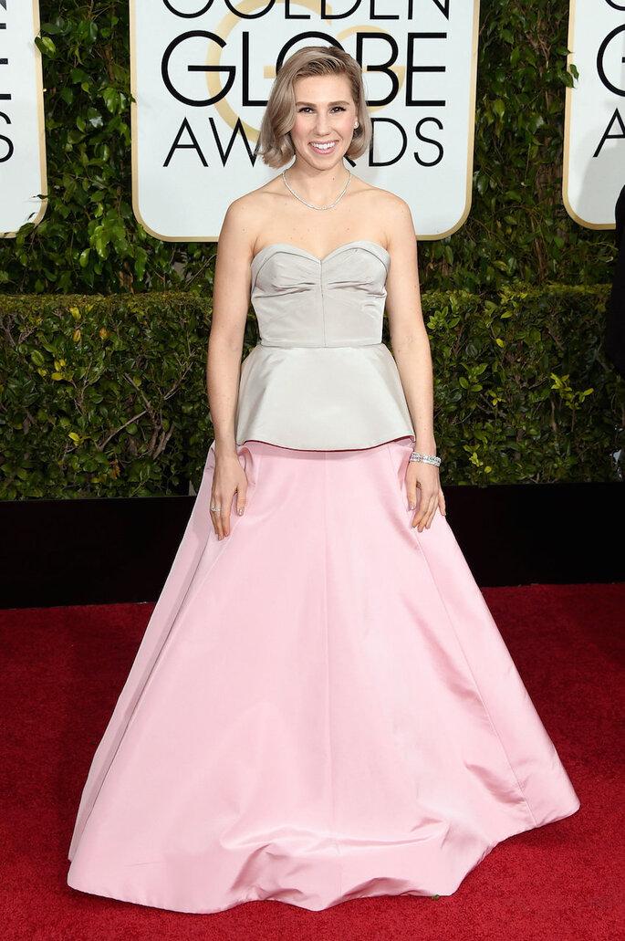 Las mejor vestidas de los Golden Globe Awards 2015 - Zac Posen