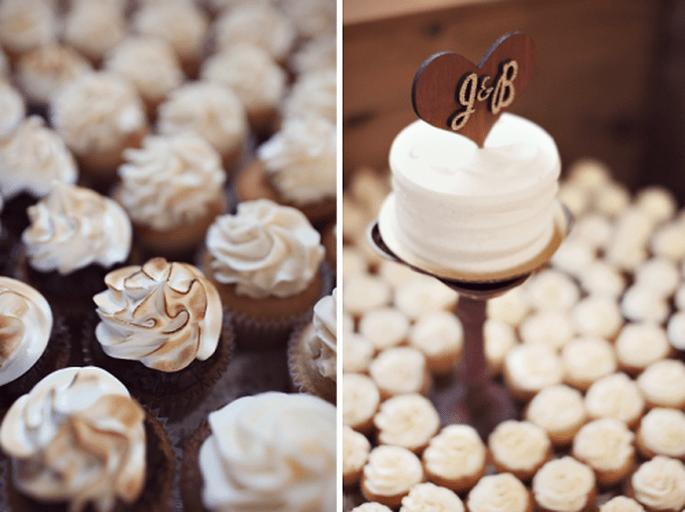 4 tendencias en pasteles de boda 2014. Fotografía Sarah Culver