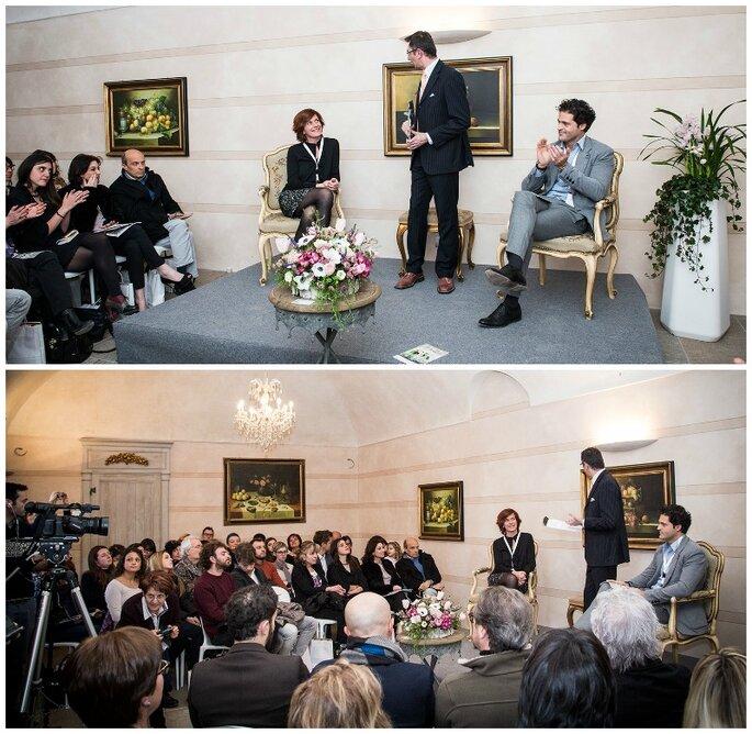 Altri momenti della presentazione di Unico Wedding