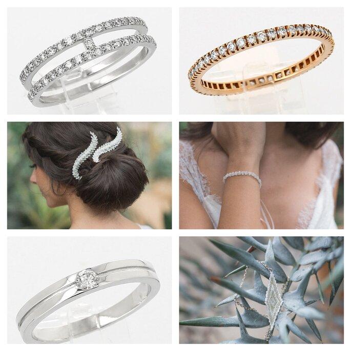 Bijoux de mariage pour une mariée