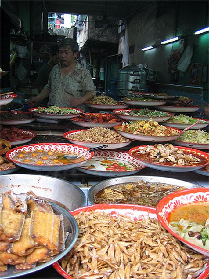 nourriture typique thailandaise