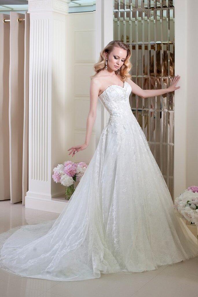 Robe de mariée Oksana Mukha 2014 - Modèle Goldi