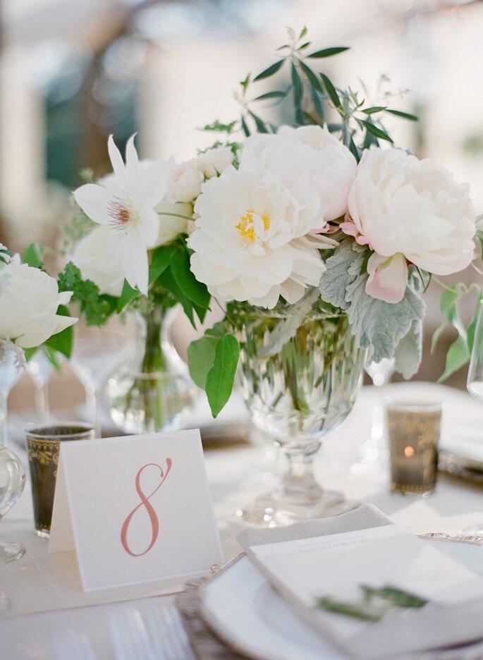 Una boda con estilo fresco y shabby chic - Jose Villa Photography