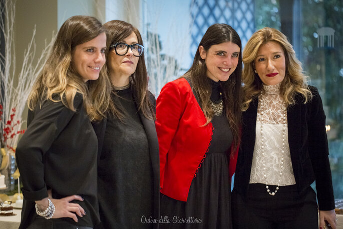 Lo staff al completo, cuore e mente di questo Wedding Breakfast Christmas Edition
