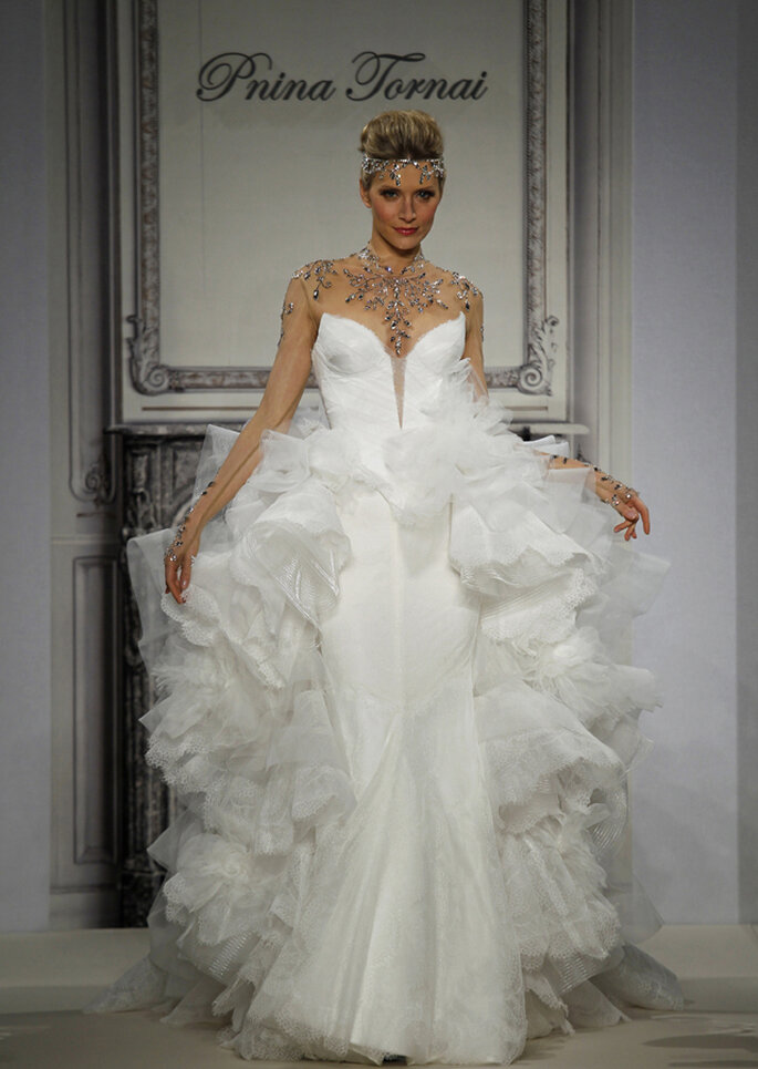 Pnina Tornai en NY Fashion week 2014