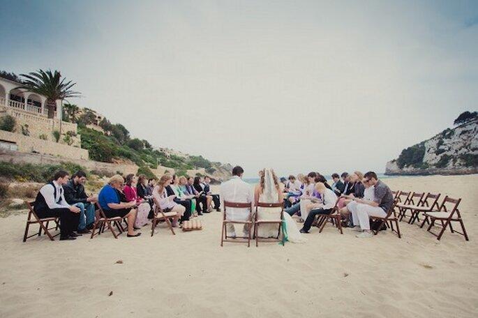 Hochzeit auf Mallorca. Strandtrauung - Foto: Nadia Meli.