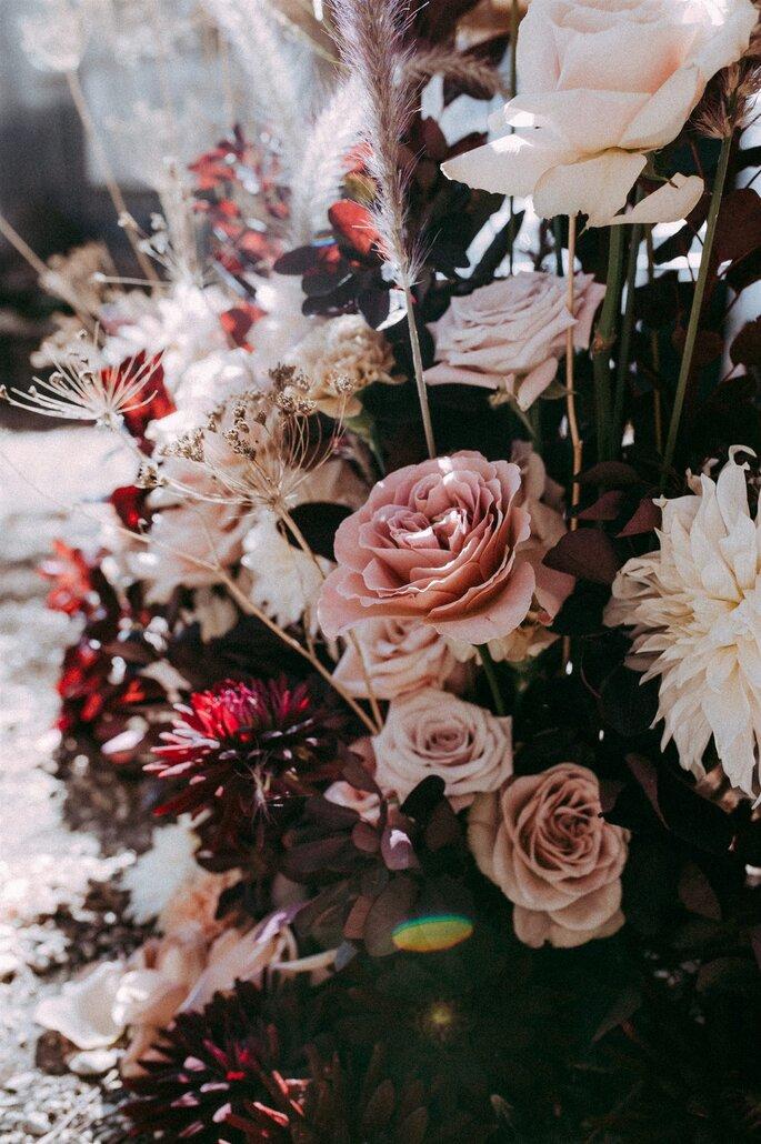 Aude Rose - Fleurs mariage - Région parisienne
