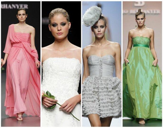 Vestidos de fiesta y novia de Elio Berhanyer, 2010-2011