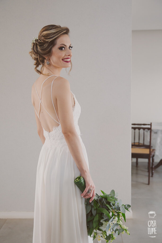 Vestido: Camila Oliveira - Foto: Casa Lume