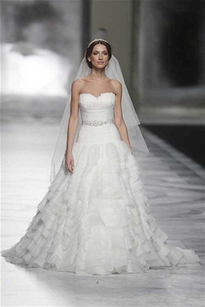 Voile de mariée San Patrick pour Pronovias 2014