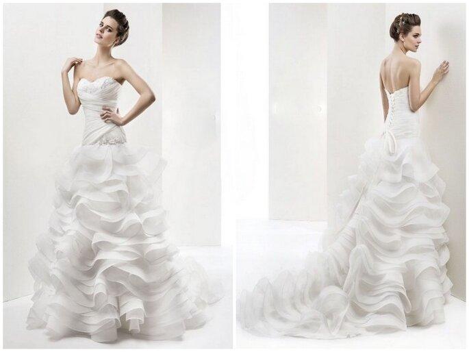 Vestido de novia Marianello de Cabotine.