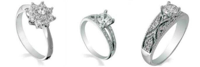 Bagues de fiançailles en diamants de Mozt