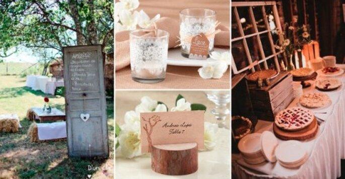 Déco et cadeaux d'invités en accord avec les spécificités de la région - © D'un Clic, Love'n Gift, 100 Layer Cake