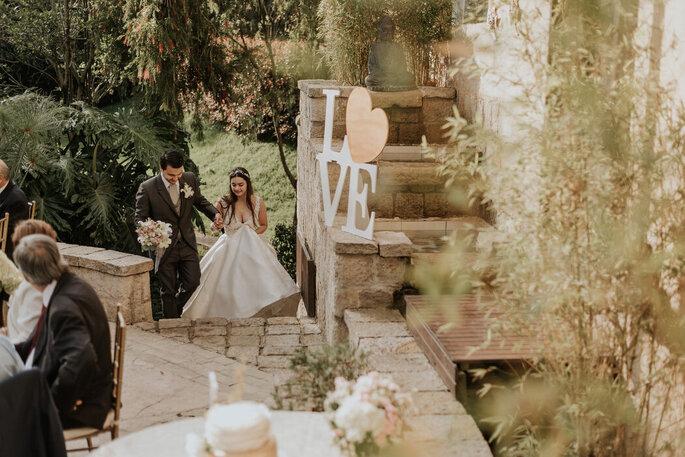 Casa Duque Entrada de la novia