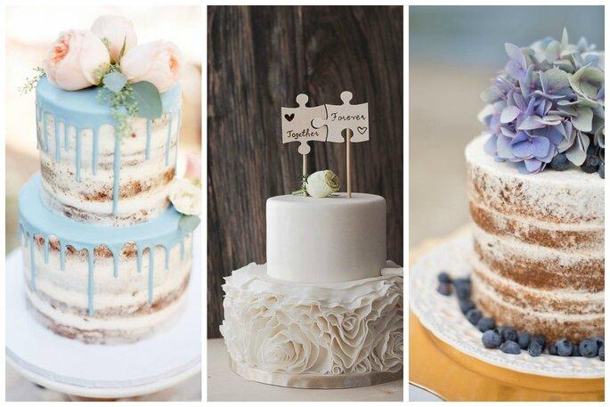 Le più belle torte nuziali su Pinterest