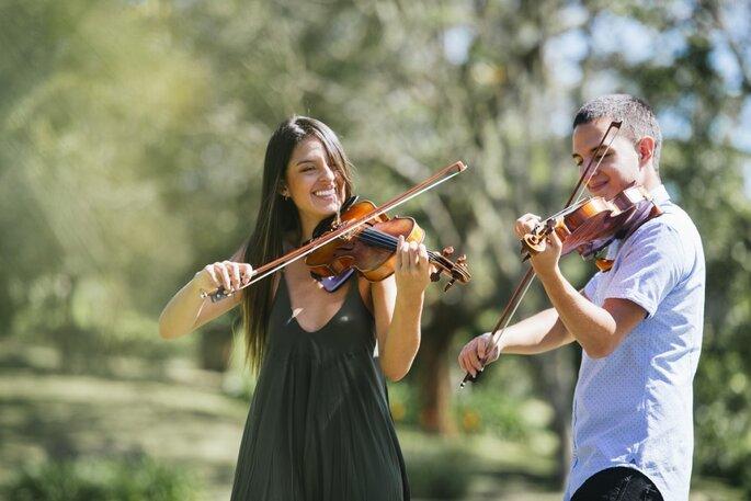 ¡Contrata a los violinistas de Clave de Dos para tu boda!