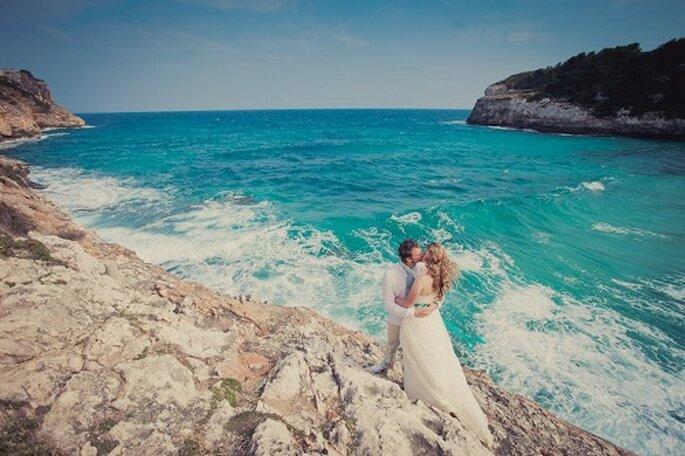Hochzeit auf Mallorca. Fotos am Meer. Foto: Nadia Meli.