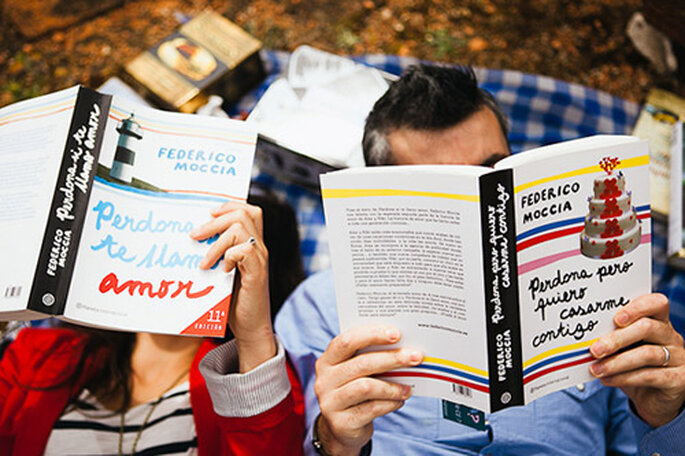 Los libros de Federico Moccia retrataron la relación de esta maravillosa pareja. Foto: Jesús Caballero