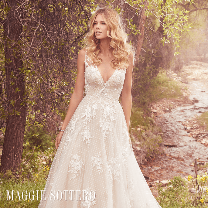 Meryl.  Maggie Sottero: Cordelia Collection.