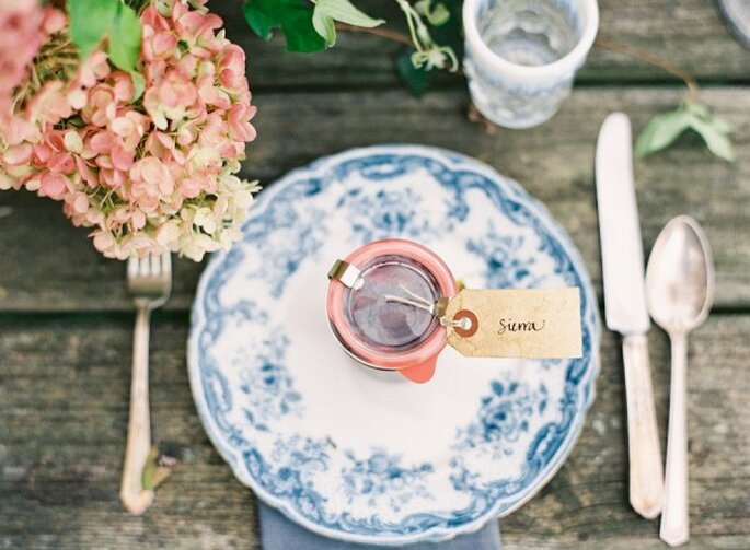 Una boda con detalles country - Foto Jen Huang Photography