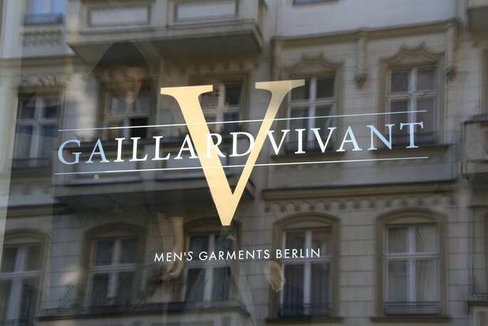 GAILLARD VIVANT -Men's Garments Berlin